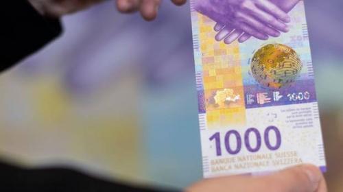 Thụy Sĩ phát hành tờ 1.000 franc mới
