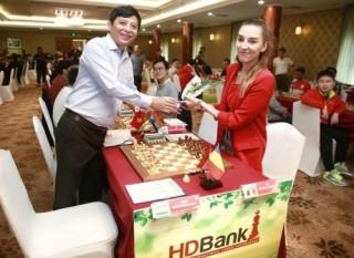 Giải Cờ vua Quốc tế HDBank - Ván 2: Các kỳ thủ chủ nhà chơi bùng nổ