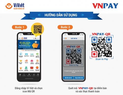 Ví Việt: Thanh toán QR - Mua sắm thả ga!