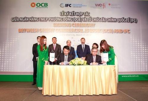 OCB và IFC hợp tác cung cấp gói tín dụng 100 triệu USD