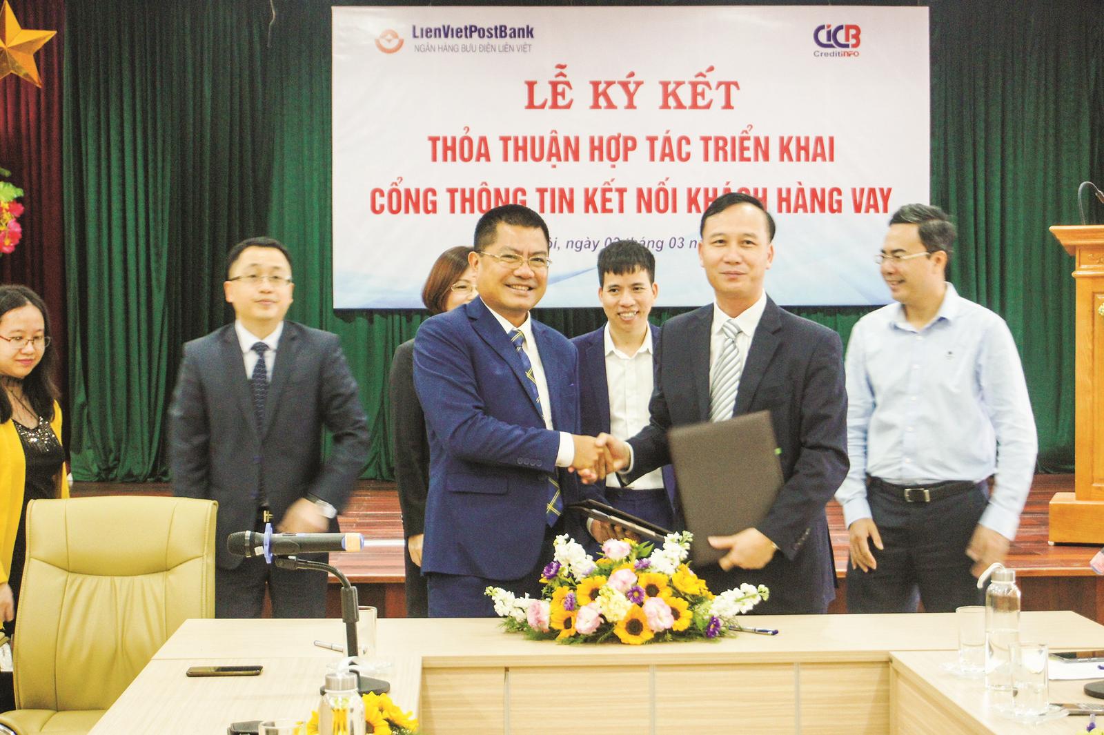 Trung tâm Thông tin tín dụng Quốc gia Việt Nam: Kết nối cùng LienVietPostBank