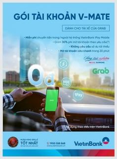 VietinBank ra mắt Gói tài khoản thanh toán dành riêng cho tài xế của Grab