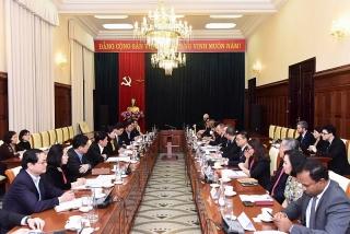 Cộng đồng doanh nghiệp Hoa Kỳ mong muốn tăng cường hợp tác trong lĩnh vực ngân hàng - tài chính với Việt Nam