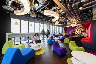 Văn phòng linh hoạt giúp tăng hiệu suất làm việc
