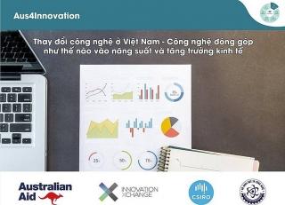 Australia hỗ trợ Việt Nam đo lường đóng góp của công nghệ trong tăng trưởng GDP