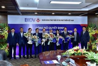 BIDV bổ nhiệm cùng lúc bốn Phó tổng giám đốc