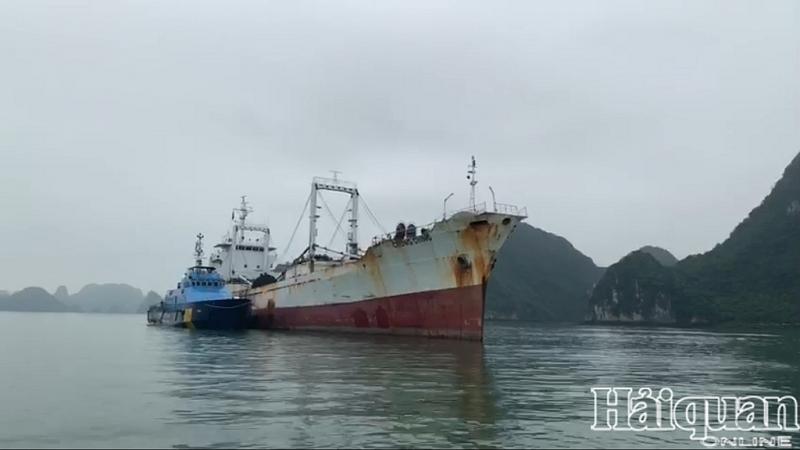 Phá thành công vụ án tàu nước ngoài buôn lậu thuốc lá lớn nhất từ trước tới nay
