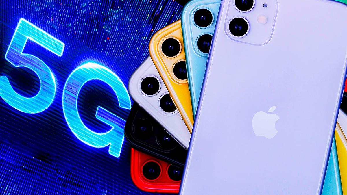 apple co the lui ra mat iphone 5g sang 2021