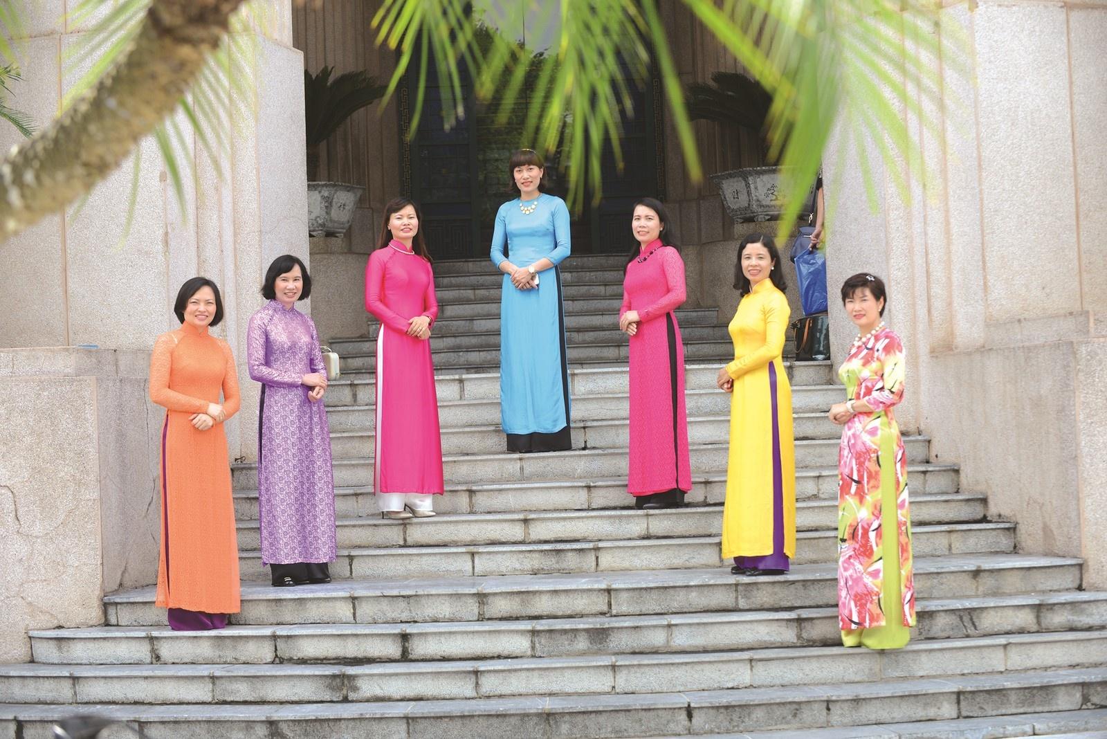 cong doan ngan hang viet nam phat dong tuan le ao dai viet nam 2021