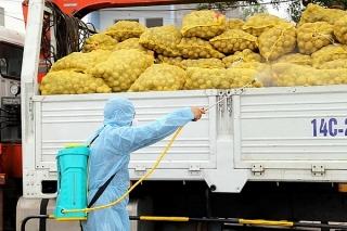 Thu mua nông sản của vùng đang có dịch phải đảm bảo an toàn