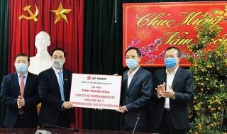 Tập đoàn AIC GROUP tài trợ Thanh Hóa xét nghiệm virus SARS-CoV-2