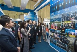 """Vietnam Expo 2021 với chủ đề """"Đồng hành cùng doanh nghiệp trong kỷ nguyên số"""""""