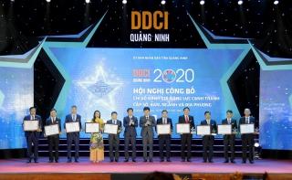 NHNN Chi nhánh tỉnh Quảng Ninh xếp hạng 3 DDCI Quảng Ninh 2020