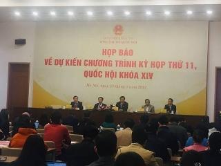 Ngày mai, khai mạc Kỳ họp thứ 11, Quốc hội khóa XIV
