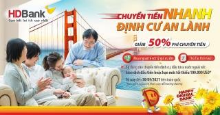 HDBank ưu đãi phí chuyển và tỷ giá mua ngoại tệ cho khách hàng cá nhân