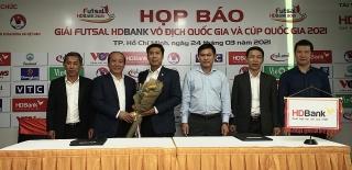 Công bố Giải Vô địch và Cúp quốc gia Futsal HDBank 2021