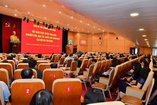 Hội nghị trực tuyến toàn quốc quán triệt Nghị quyết Đại hội XIII của Đảng