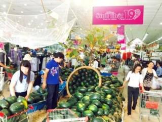 Co.opmart  giúp nông dân miền Trung tiêu thụ dưa hấu