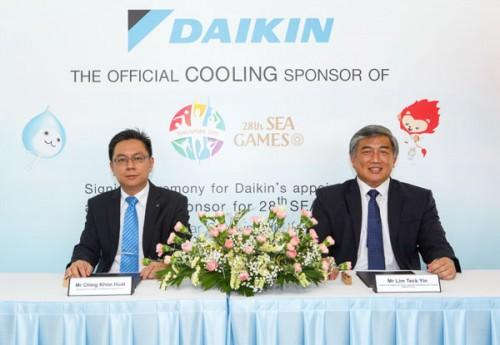 Daikin tài trợ 1 triệu SGD cho SEA Games 28