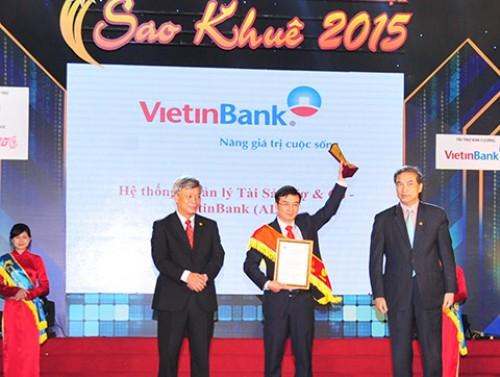 3 sản phẩm CNTT VietinBank nhận danh hiệu Sao Khuê 2015