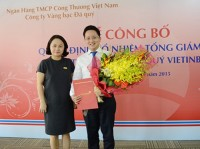 VietinBank Gold & Jewellery có Tổng Giám đốc mới