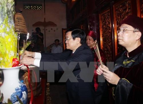 Phú Thọ long trọng tổ chức Lễ giỗ Tổ Hùng Vương năm 2015