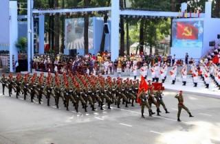 Lễ diễu binh và diễu hành kỷ niệm 40 năm thống nhất đất nước