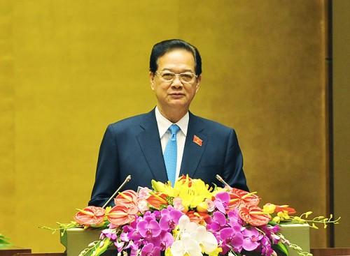 Chính thức trình miễn nhiệm Thủ tướng Nguyễn Tấn Dũng