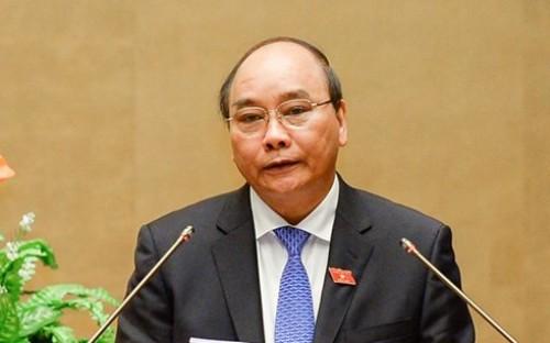 Đề cử ông Nguyễn Xuân Phúc làm Thủ tướng Chính phủ