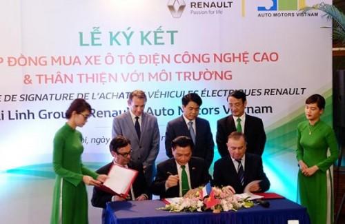 Mai Linh nhập 100 xe điện về Việt Nam chạy taxi