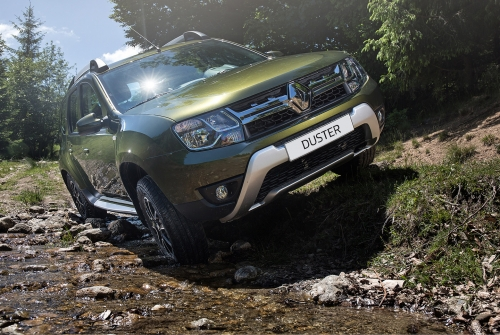 Vi vu đất Pháp cùng Renault Duster