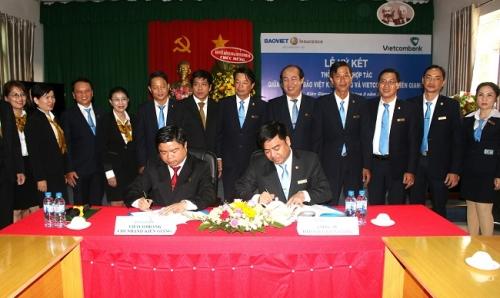 Vietcombank chi nhánh Kiên Giang hợp tác với Công ty Bảo Việt Kiên Giang