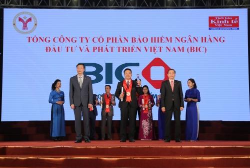 BIC nằm trong Top 100 Thương hiệu mạnh Việt Nam năm 2016