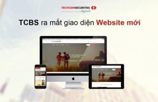 TCBS ra mắt website phiên bản mới