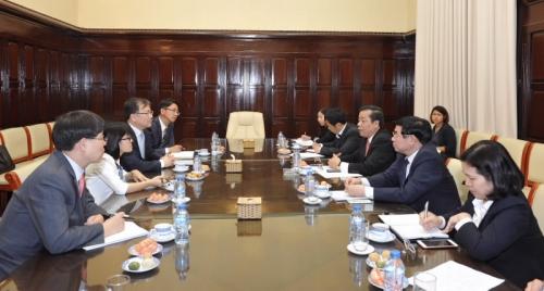 Tiếp tục tạo điều kiện thuận lợi cho các DN nước ngoài hoạt động tại Việt Nam