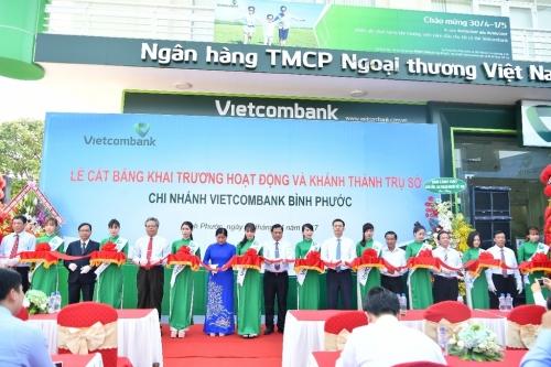 Vietcombank tiếp tục mở rộng mạng lưới hoạt động tại khu vực Đông Nam Bộ