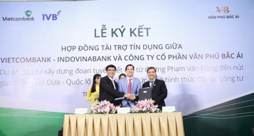 Vietcombank tài trợ 1.156 tỷ đồng xây dựng dự án giao thông tại TP.HCM