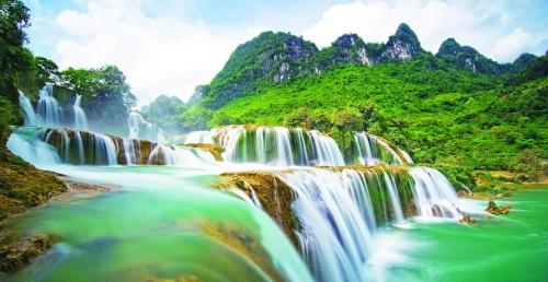 Khu du lịch thác Bản Giốc: Đến năm 2020 đạt khoảng 750.000 lượt khách du lịch