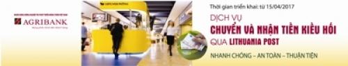 Agribank cung cấp dịch vụ chuyển tiền đi các quốc gia trong khu vực SEPA