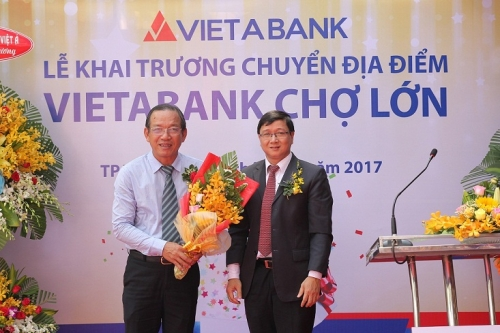 VietABank khai trương địa điểm mới Chi nhánh Chợ Lớn