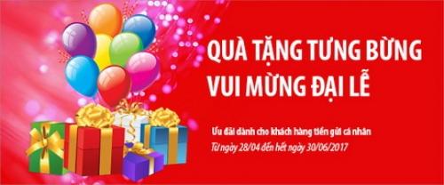 Quà tặng tưng bưng – Vui mừng đại Lễ cùng Viet Capital Bank