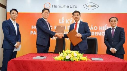 Hanwha Life Việt Nam ký kết hợp tác chiến lược với Movin