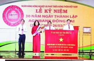 Agribank Đồng Nai: 30 năm trưởng thành vững bước