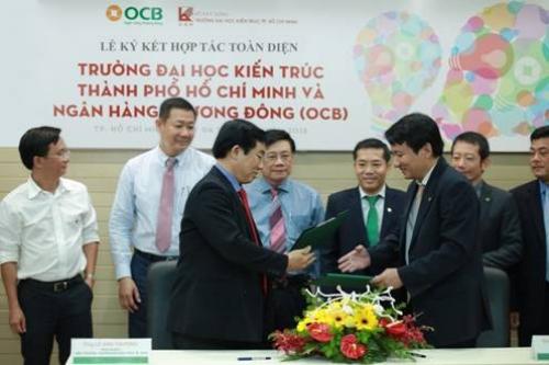 OCB ký kết toàn diện với Trường Đại học Kiến trúc TP.HCM