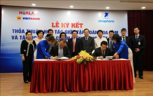 Tập đoàn Hoa Lâm và VNPT hợp tác toàn diện
