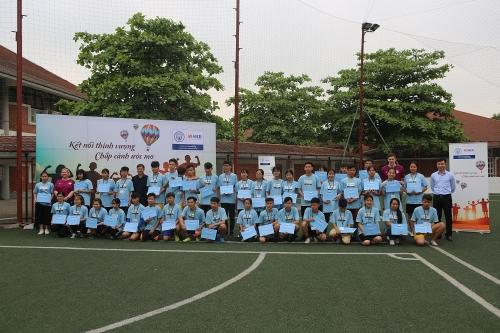 """SHB và Manchester City tiếp tục đào tạo """"Nhà lãnh đạo trẻ"""" tại Việt Nam"""