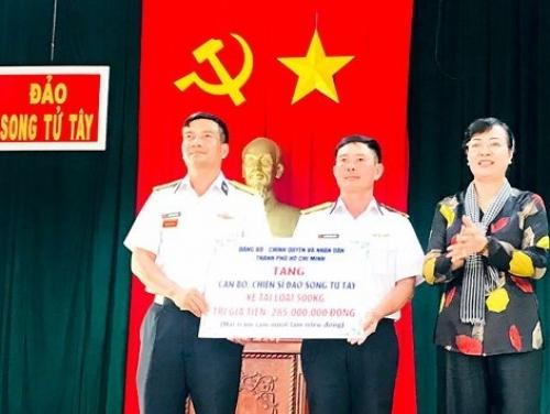 TP.Hồ Chí Minh hỗ trợ hơn 17 tỷ đồng cho huyện đảo Trường Sa