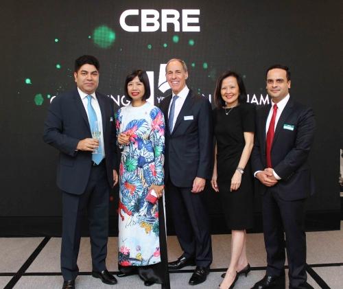 CBRE 15 năm đồng hành cùng thị trường bất động sản Việt Nam
