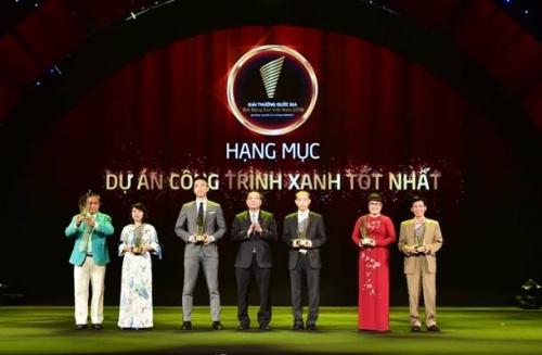 Phúc Khang Corporation nhận giải Dự án công trình xanh tốt nhất