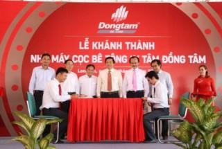 Khánh thành nhà máy sản xuất cọc bê tông ly tâm Đồng Tâm
